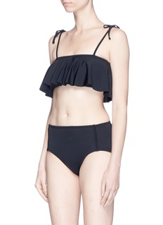 Beth Richards'Brigitte' high waist bikini bottoms