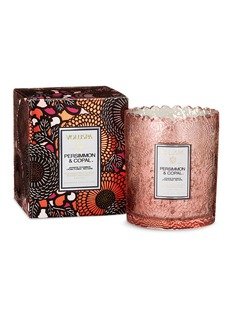 VOLUSPA Japonica Persimmon & Copal scalloped edge candle