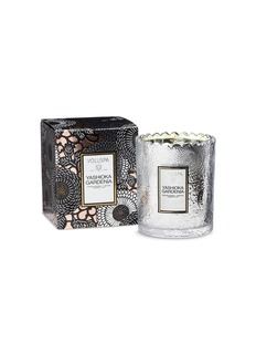 VOLUSPA Japonica Yashioka Gardenia scalloped edge candle