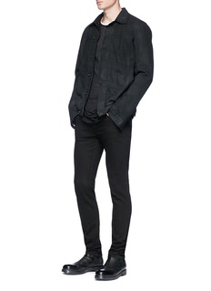 Rick Owens DRKSHDW Sheer long T-shirt