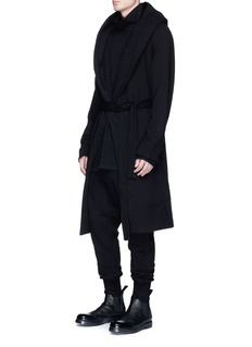 Rick Owens DRKSHDW 'Memphis Pod' dropped crotch jogging pants