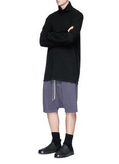 Rick Owens DRKSHDW Drop crotch sweat shorts