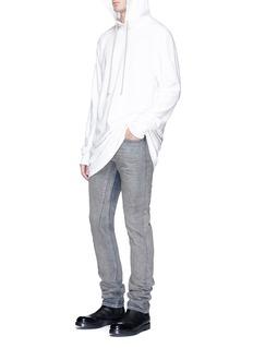 Rick Owens DRKSHDW'Detroit' bleached slim fit jeans