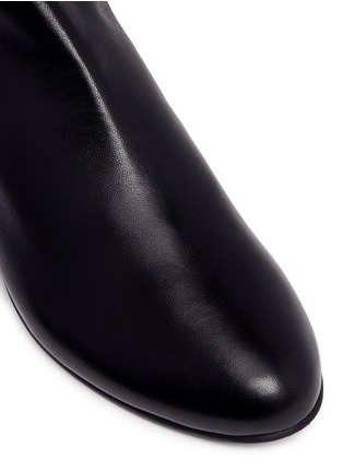 Detail View - Click To Enlarge - Stuart Weitzman - 'All Day' concealed wedge leather thigh high boots