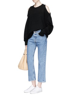 bassike Cropped flared jeans