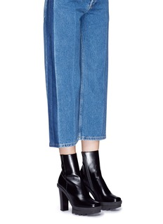 Stella McCartney 'Felik' alter calf platform boots