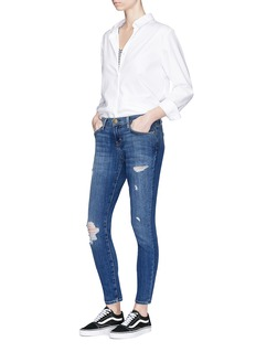Current/Elliott 'The Easy Stiletto' cropped skinny jeans
