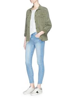 Current/Elliott'The Highwaist Stiletto' cropped skinny jeans