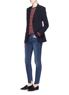 Frame Denim 'Le Skinny de Jeanne Cascade' staggered cuff jeans