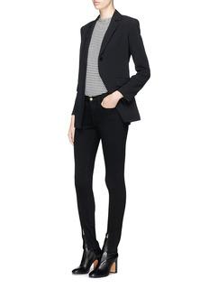Frame Denim'Le Skinny de Jeanne' split cuff jeans