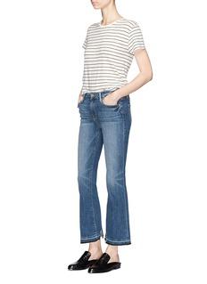 Frame Denim'Le Crop Mini Boot' cropped jeans