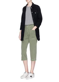 J Brand 'Maxi Jacket' in cotton denim