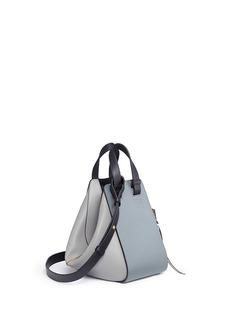 Loewe'Hammock' small colourblock calfskin leather bag