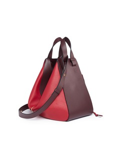 Loewe 'Hammock' colourblock calfskin leather bag