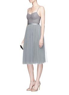 Needle & Thread'Coppelia' beaded ballet dress