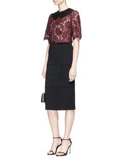 Dolce & Gabbana Floral guipure lace top