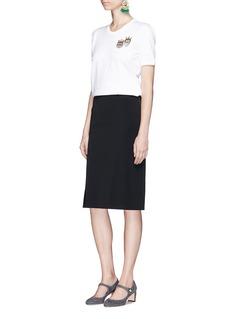Dolce & Gabbana DG family patch cotton T-shirt