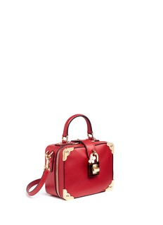 Dolce & Gabbana 'Dolce Soft' padlock small drummed leather bag