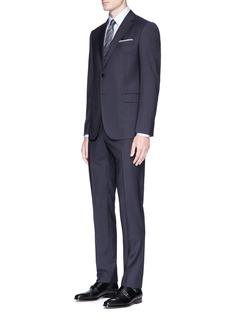 Armani Collezioni 'Metropolitan' wool check jacquard suit