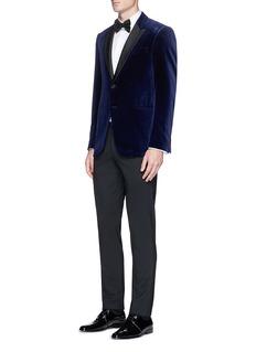 Armani Collezioni 'Metropolitan' velvet tuxedo blazer