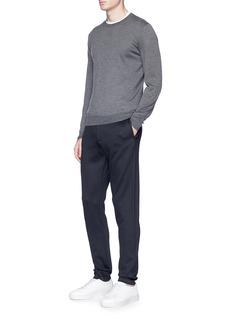 Armani Collezioni Jersey jogging pants