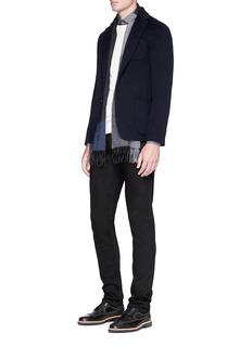Armani Collezioni Felted wool-cashmere soft blazer