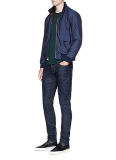 Armani Collezioni Slim fit raw jeans