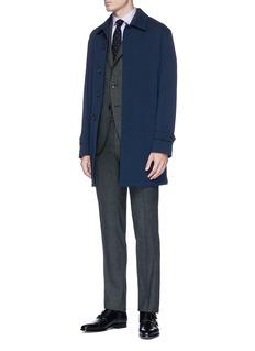Armani Collezioni Stripe cotton poplin shirt