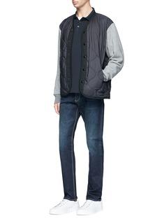Armani Collezioni Slim fit selvedge jeans