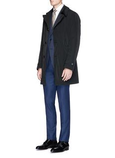 Armani Collezioni Detachable lining water-repellent coat