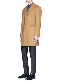 Armani Collezioni'Metropolitan' virgin wool cashmere coat