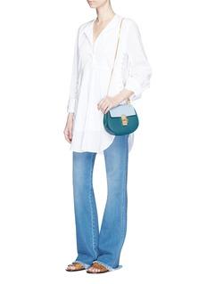 Chloé'Drew' mini colourblock calfskin leather shoulder bag