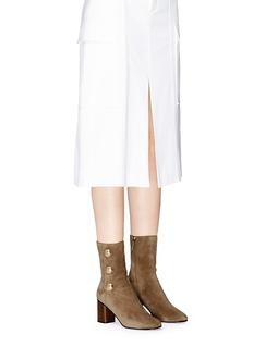 Chloé'Orlando' dome stud suede boots