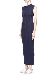 Rosetta GettyRib knit maxi skirt