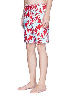 Vilebrequin 'Okoa' whale print swim shorts