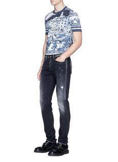 Dolce & GabbanaCapri scenery print T-shirt