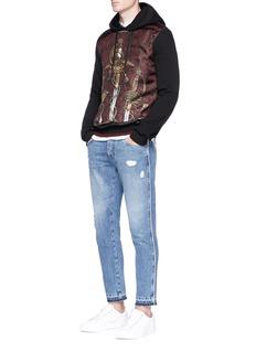 Dolce & Gabbana Sword graphic print hoodie