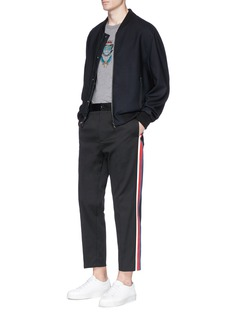 Dolce & GabbanaCrown crest appliqué T-shirt