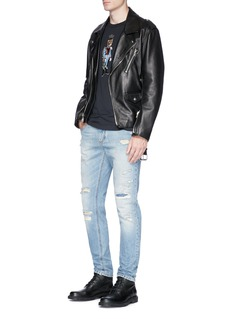 Dolce & GabbanaGeneral panther appliqué T-shirt