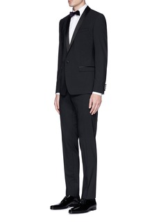 Dolce & Gabbana'Gold' satin shawl lapel tuxedo suit