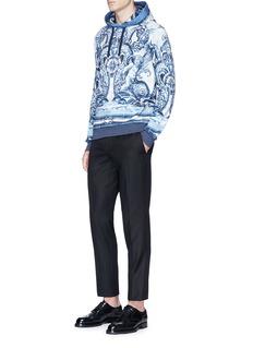 Dolce & Gabbana Sicilian majolica print hoodie