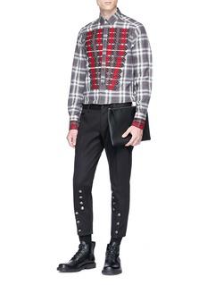 Dolce & Gabbana Button panel cropped pants