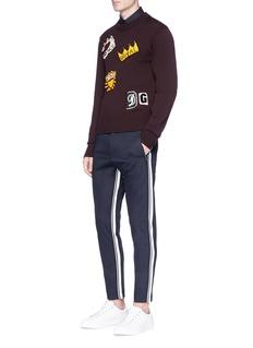 Dolce & Gabbana Crown heart appliqué shirt
