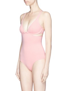 Ephemera Twist back one-piece swimsuit