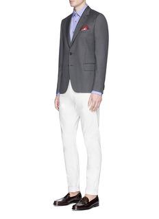 Paul Smith Charm button woven cotton shirt