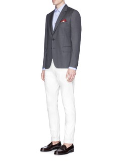Paul Smith 'Soho' wool dot jacquard blazer