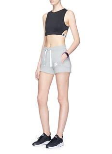 NikeLogo print jersey sweat shorts