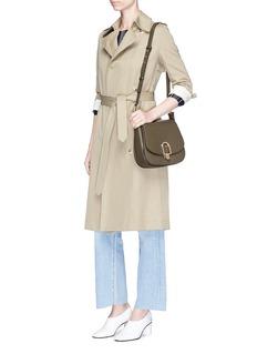 Michael Kors 'Delfina' large leather saddle bag