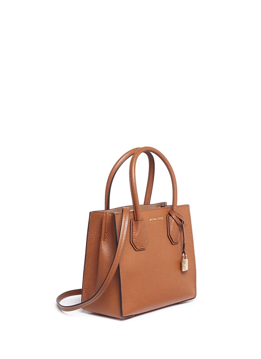 9928d46d78c8 Michael Kors Mercer Leather Crossbody Bag | Stanford Center for ...