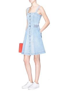 Stella McCartney 'Carley' button denim dress